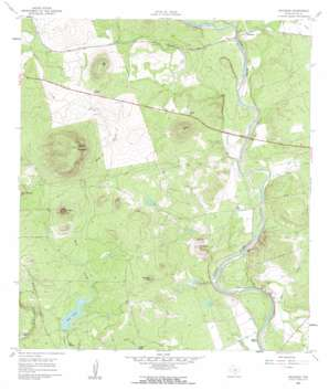 Hacienda USGS topographic map 29099b8
