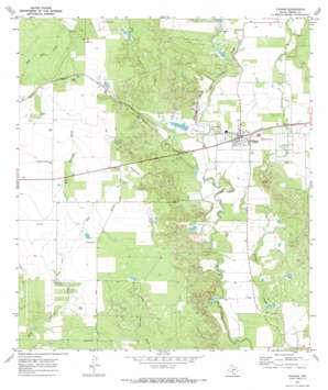 D'Hanis USGS topographic map 29099c3