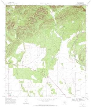 Trio USGS topographic map 29099d5