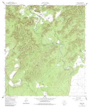 Concan USGS topographic map 29099d6