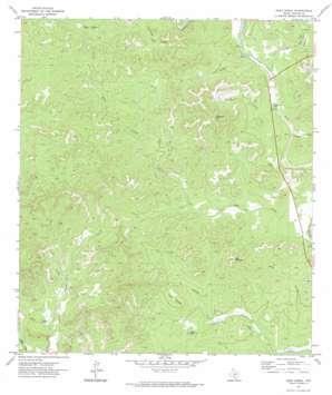 Deep Creek USGS topographic map 29099d7