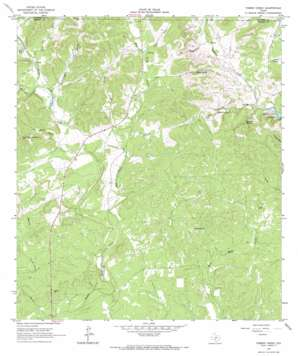 Timber Creek USGS topographic map 29099e1