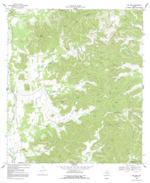Rio Frio topo map