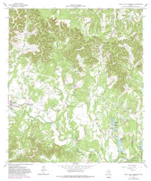 Rock Cliff Reservoir topo map