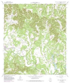 Rock Cliff Reservoir topo map