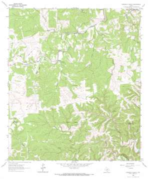Diamond S Ranch topo map