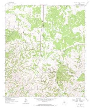 Hillcrest Ranch topo map