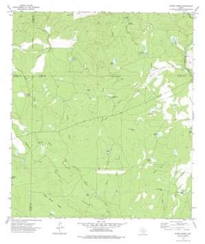 Olmos Creek topo map