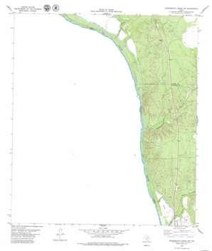 Tequesquite Creek Sw topo map