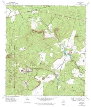 Cline topo map