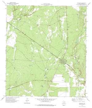 Spofford topo map