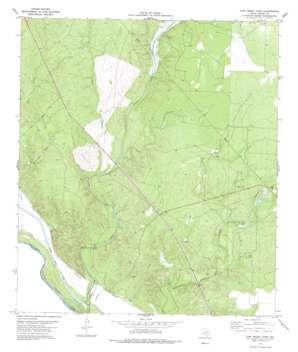 Cow Creek Tank topo map