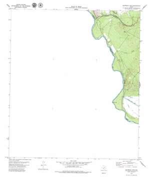 Maverick Dam topo map