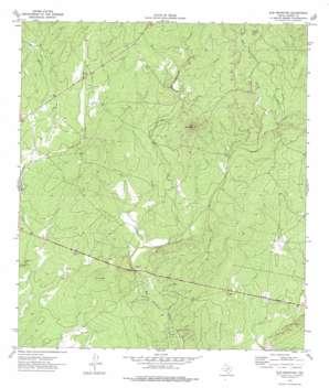 Elm Mountain topo map