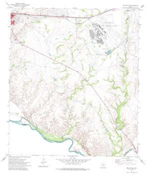 Del Rio Se topo map