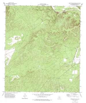 Brackettville Ne topo map