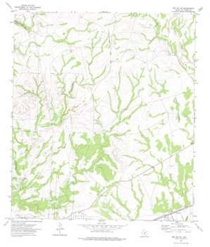 Del Rio Ne topo map
