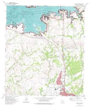 Del Rio NW USGS topographic map 29100d8
