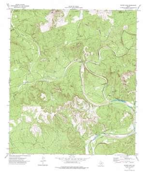 Silver Lake topo map