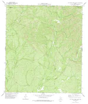Flat Rock Creek South USGS topographic map 29100e5