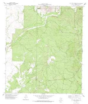 Flat Rock Creek Sw topo map