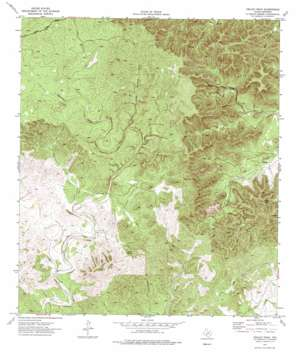 Kelley Peak topo map