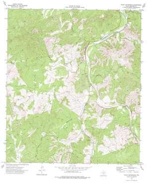 Wiley Waterhole topo map