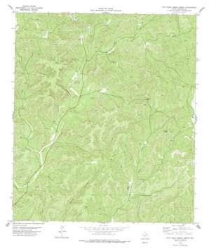 Flat Rock Creek North topo map