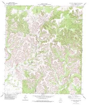 Flat Rock Creek Nw topo map