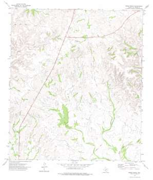 Miers Ranch topo map