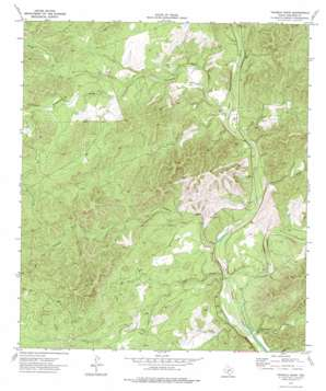 Twomile Draw topo map
