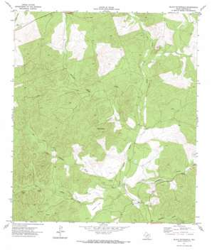 Black Waterhole topo map