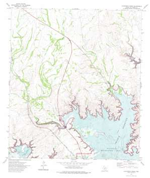 California Creek topo map