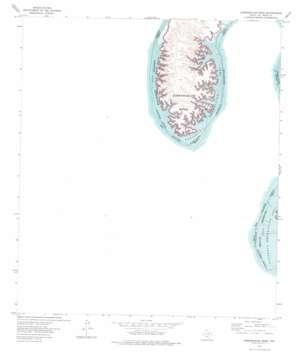 Zuberbueler Bend topo map