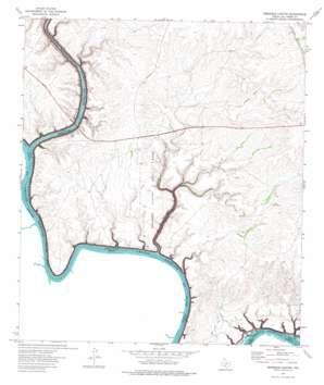 Seminole Canyon topo map