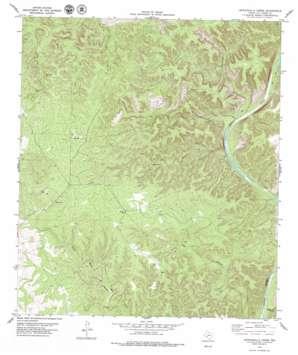 Lechuguilla Creek topo map