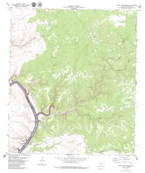 Pecos High Bridge USGS topographic map 29101g3