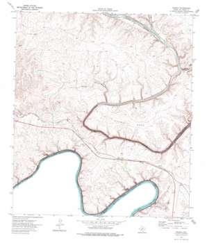 Shumla topo map