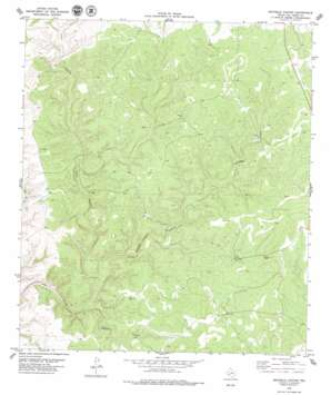 Mayfield Canyon topo map