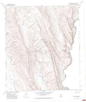 Ernst Valley topo map