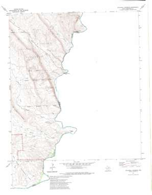 Stillwell Crossing topo map