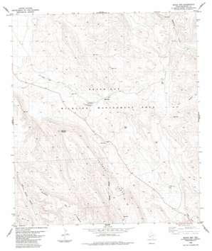 Black Gap topo map