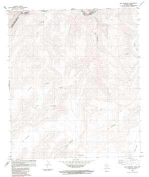 San Rosendo topo map