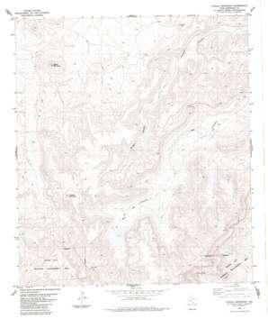 Cupola Mountain topo map