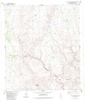 Stillwell Mountain topo map