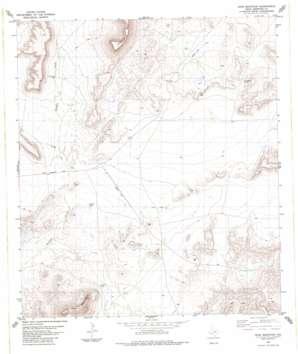 Dove Mountain topo map