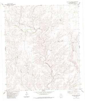 Mcclain Canyon topo map