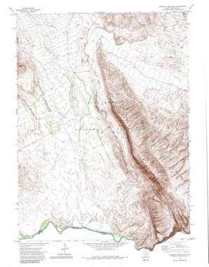 Mariscal Mountain topo map