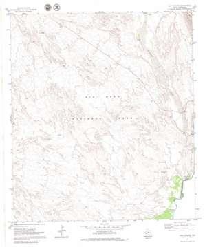 San Vincente topo map