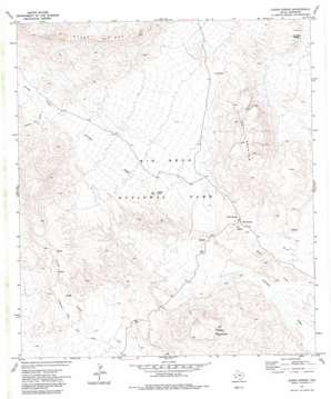 Glenn Spring topo map